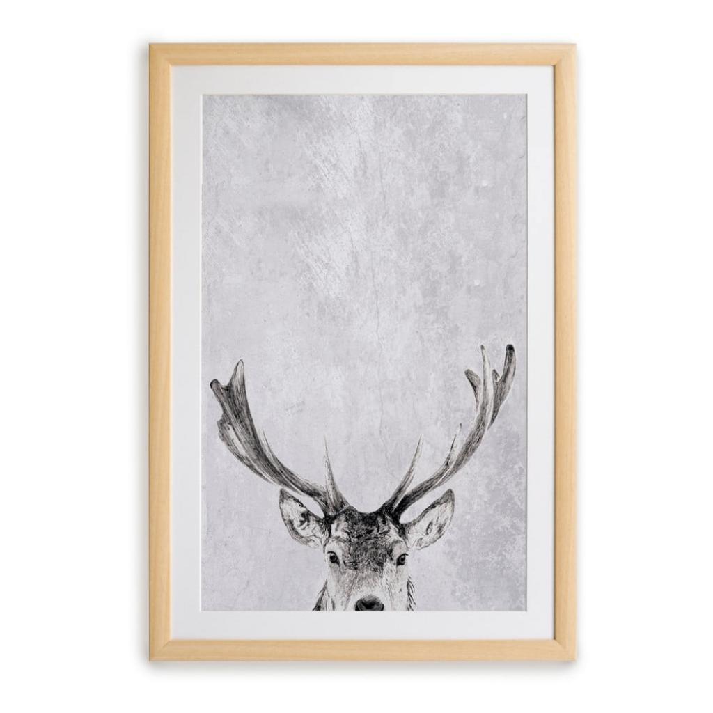 Produktové foto Nástěnný obraz v rámu Surdic Deer, 35 x 45 cm