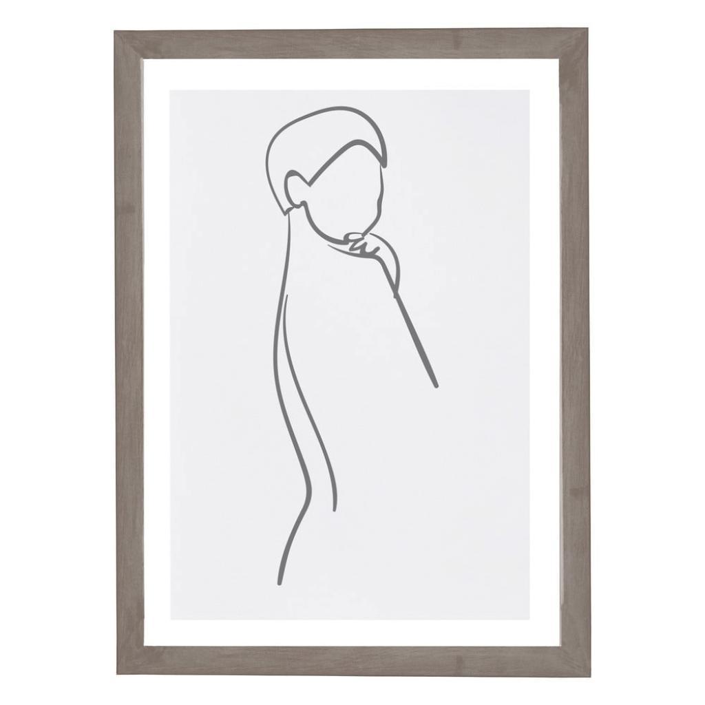 Produktové foto Nástěnný obraz v rámu Surdic Woman Body, 30 x 40 cm