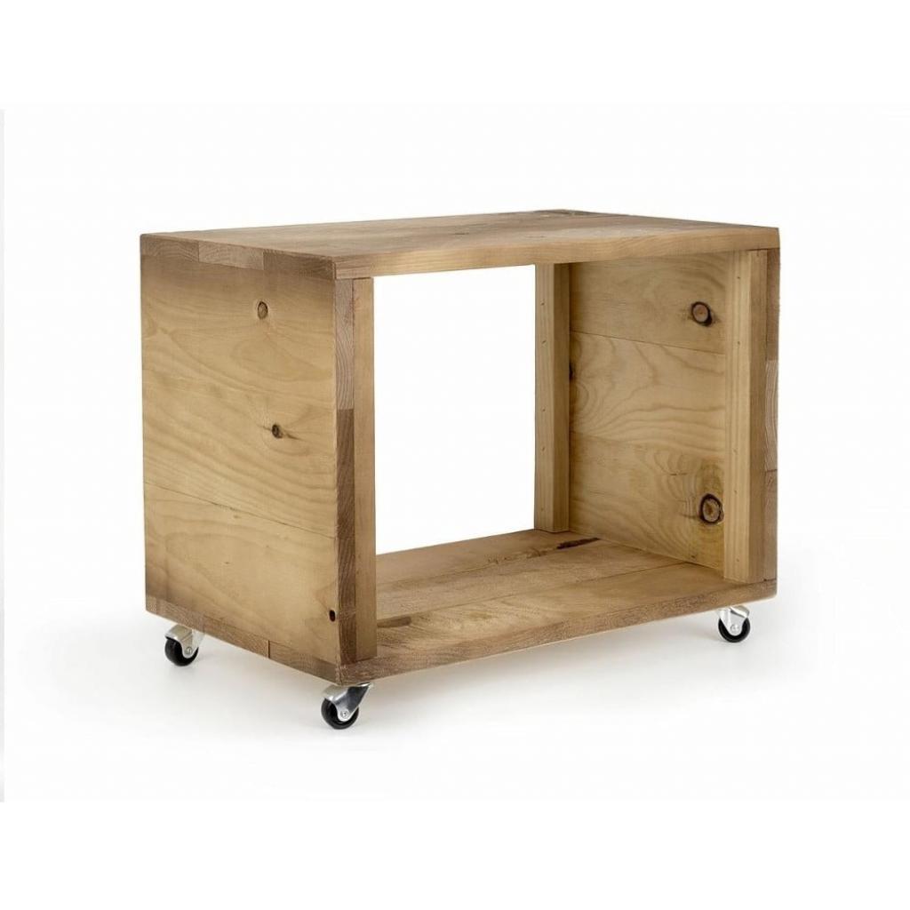 Produktové foto Dřevěný pojízdný stolek Really Nice Things