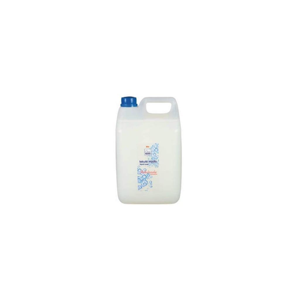 Produktové foto Antibakteriální tekuté mýdlo v rodinném balení Kiss Classic, 5 l