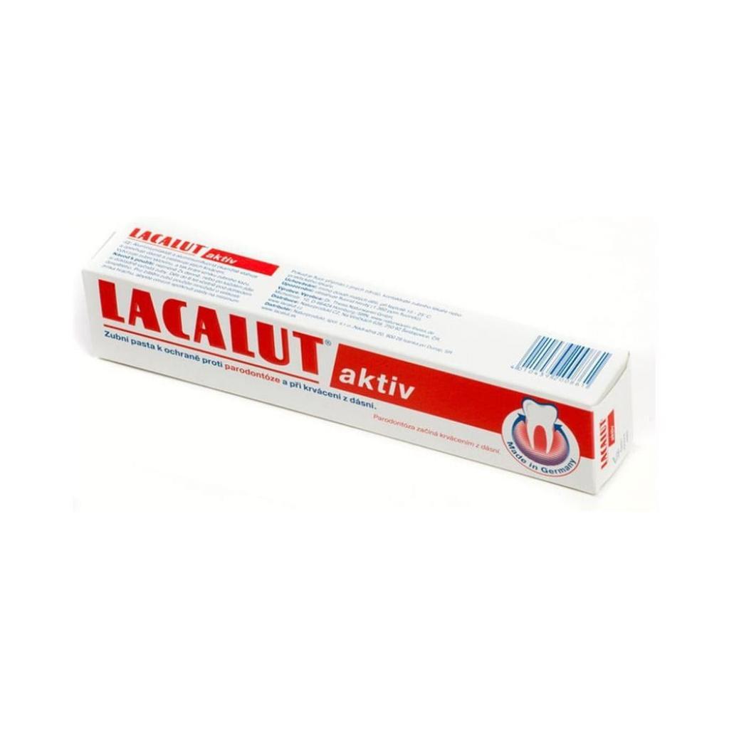 Produktové foto Zubní pasta Lacalut Aktiv, 3 x 75 ml