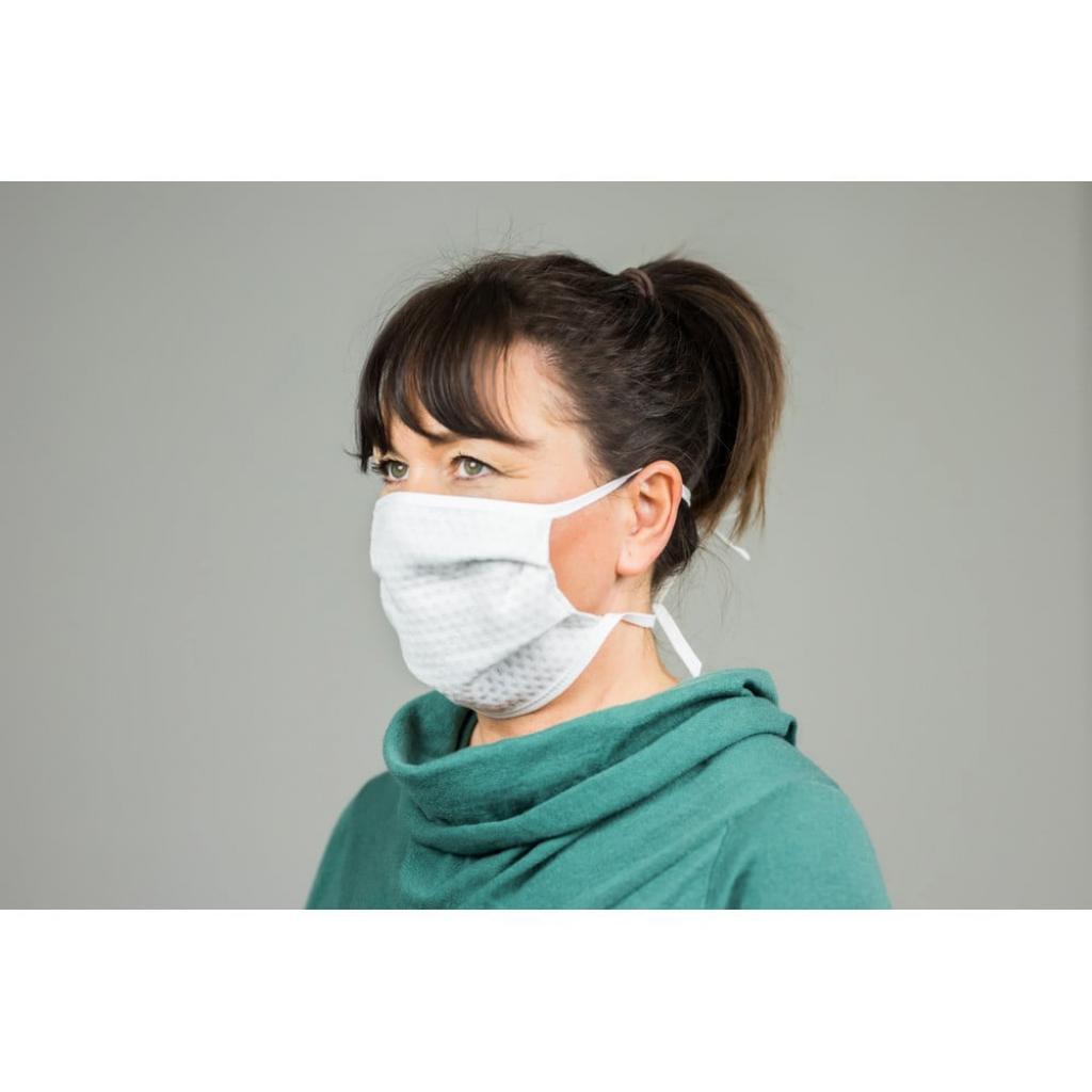 Produktové foto Sada 5 textilních roušek na ústa SILVER