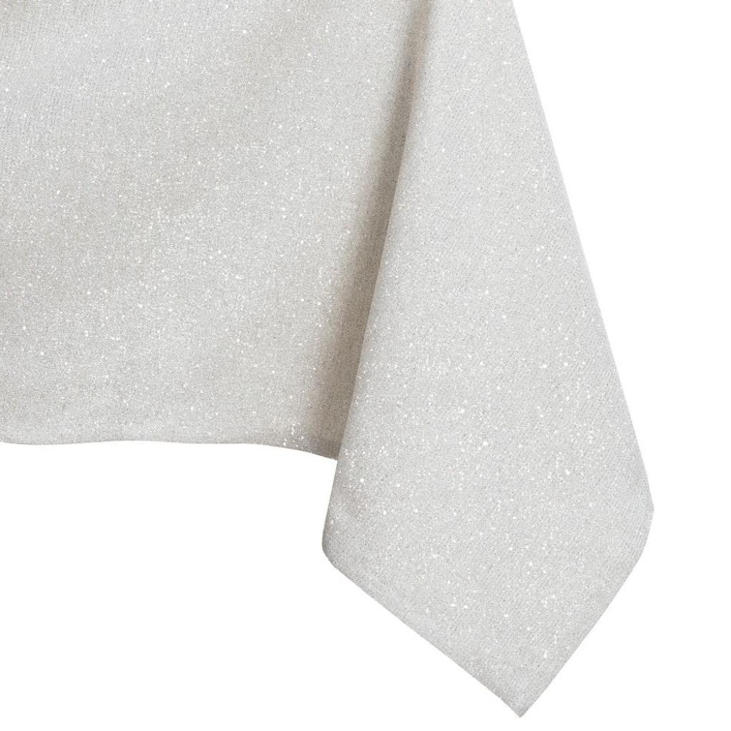 Produktové foto Krémový ubrus DecoKing Sparkle Cream, 140 x 260 cm