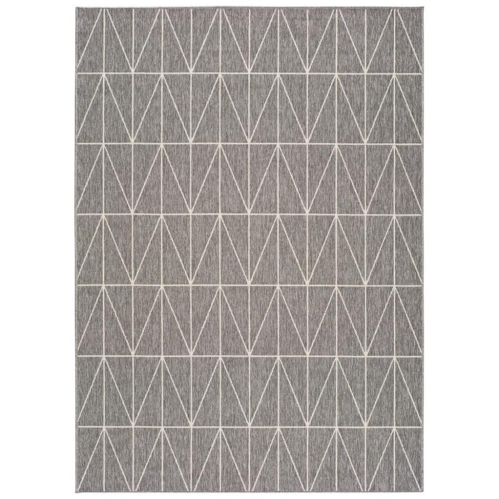 Produktové foto Šedý venkovní koberec Universal Nicol Casseto, 230 x 160 cm