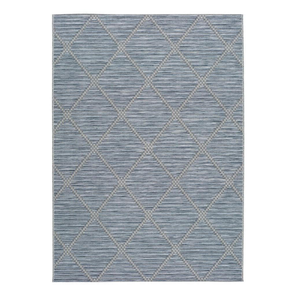 Produktové foto Modrý venkovní koberec Universal Cork, 55 x 110 cm