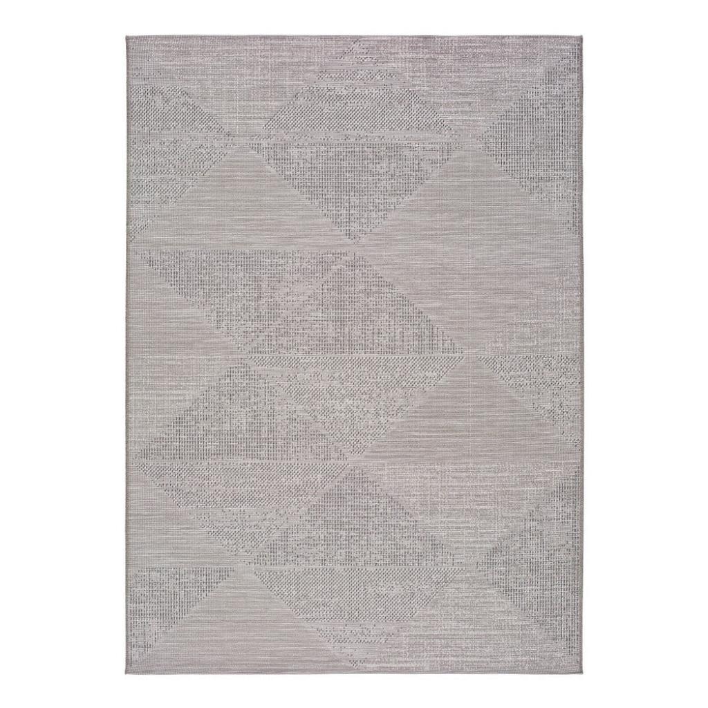 Produktové foto Šedý venkovní koberec Universal Macao Grey Wonder, 77x150cm