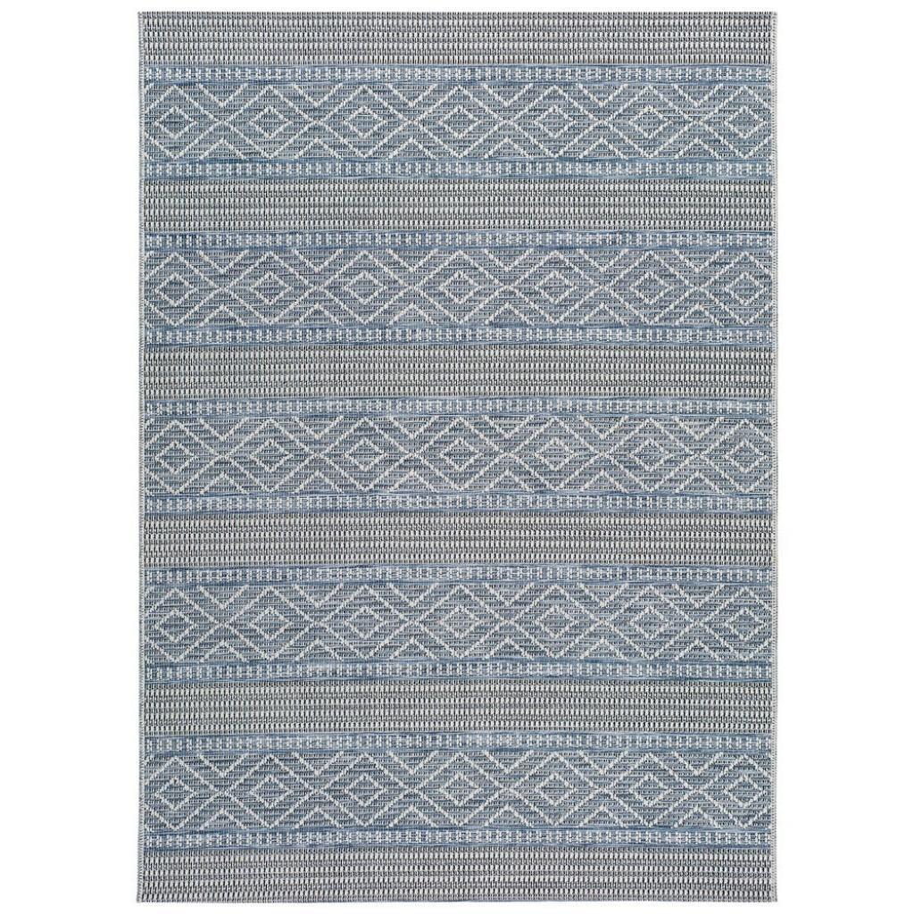 Produktové foto Modrý venkovní koberec Universal Cork Lines, 115 x 170 cm