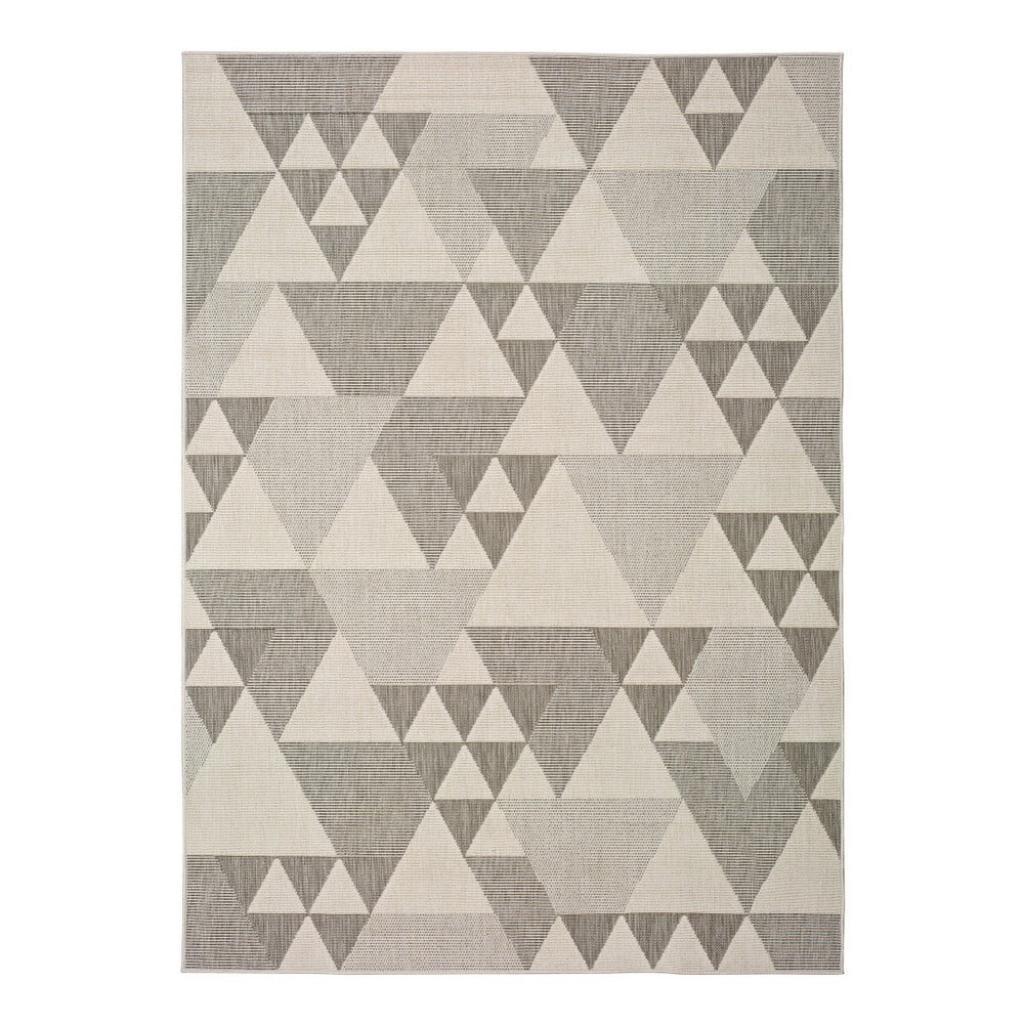 Produktové foto Béžový venkovní koberec Universal Clhoe Triangles, 160 x 230 cm