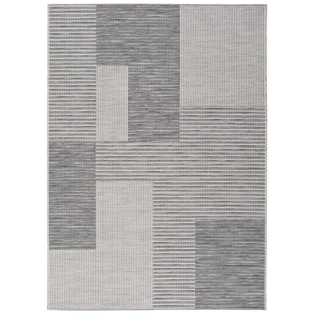 Produktové foto Šedý venkovní koberec Universal Cork Squares, 115 x 170 cm