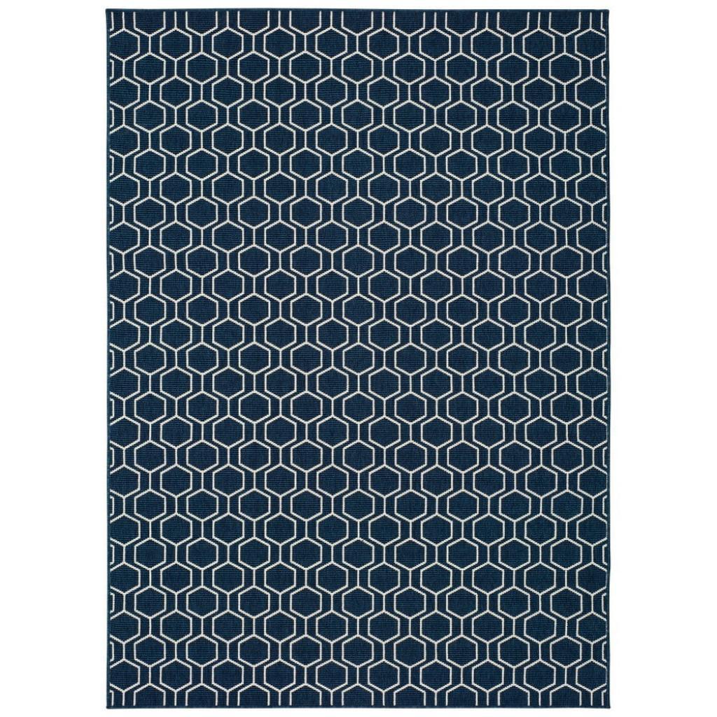 Produktové foto Modrý venkovní koberec Universal Clhoe, 80 x 150 cm