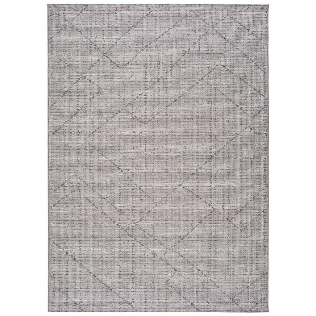 Produktové foto Šedý venkovní koberec Universal Macao Grey Amelia, 133x190cm