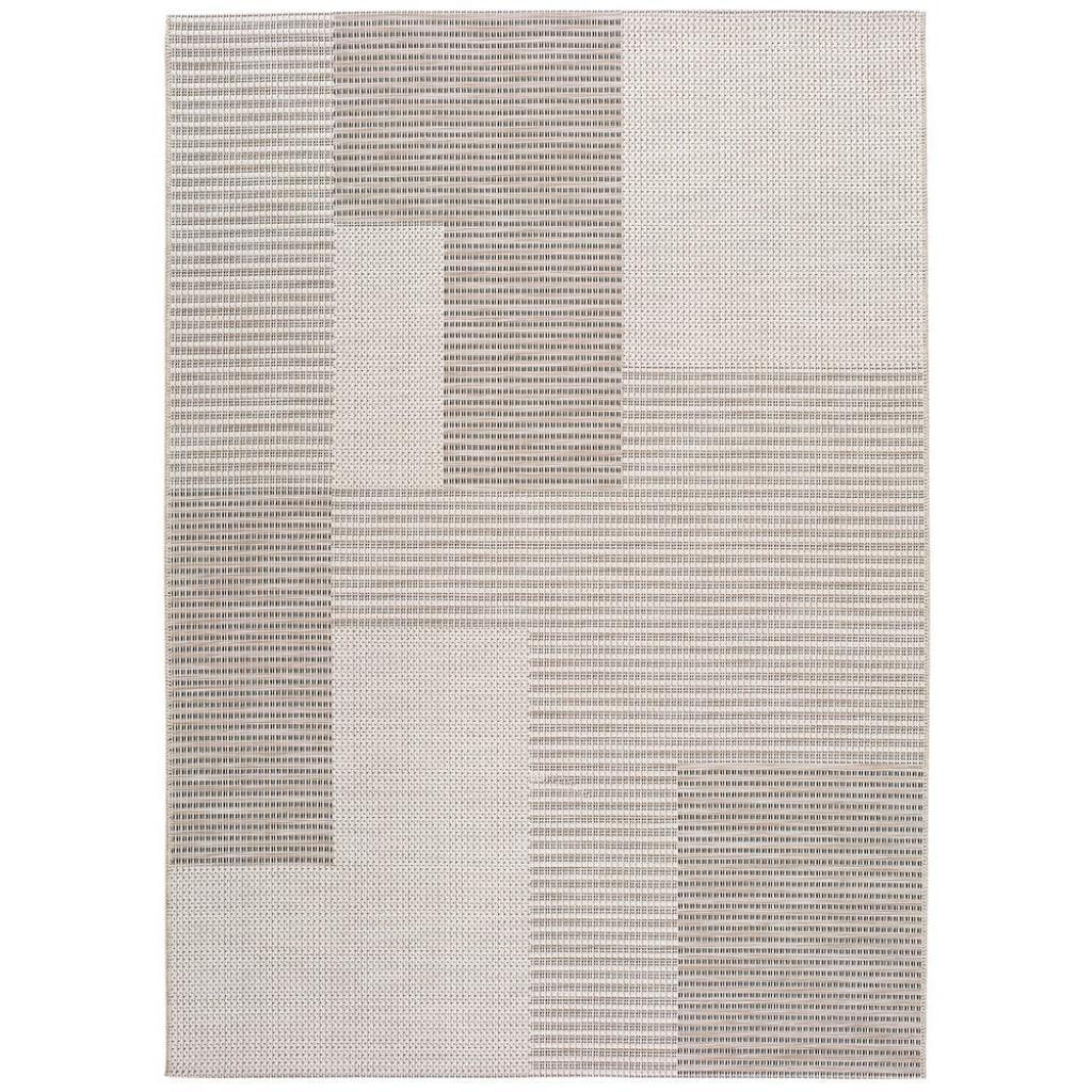 Produktové foto Béžový venkovní koberec Universal Cork Squares, 130 x 190 cm