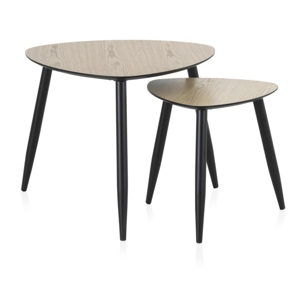 Produktové foto Sada 2 konferenčních stolků Geese Nordic Style Parro, 60 x 60 cm