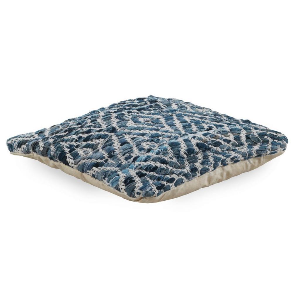 Produktové foto Modrý polštář s výplní Geese Valencia, 45x 45 cm
