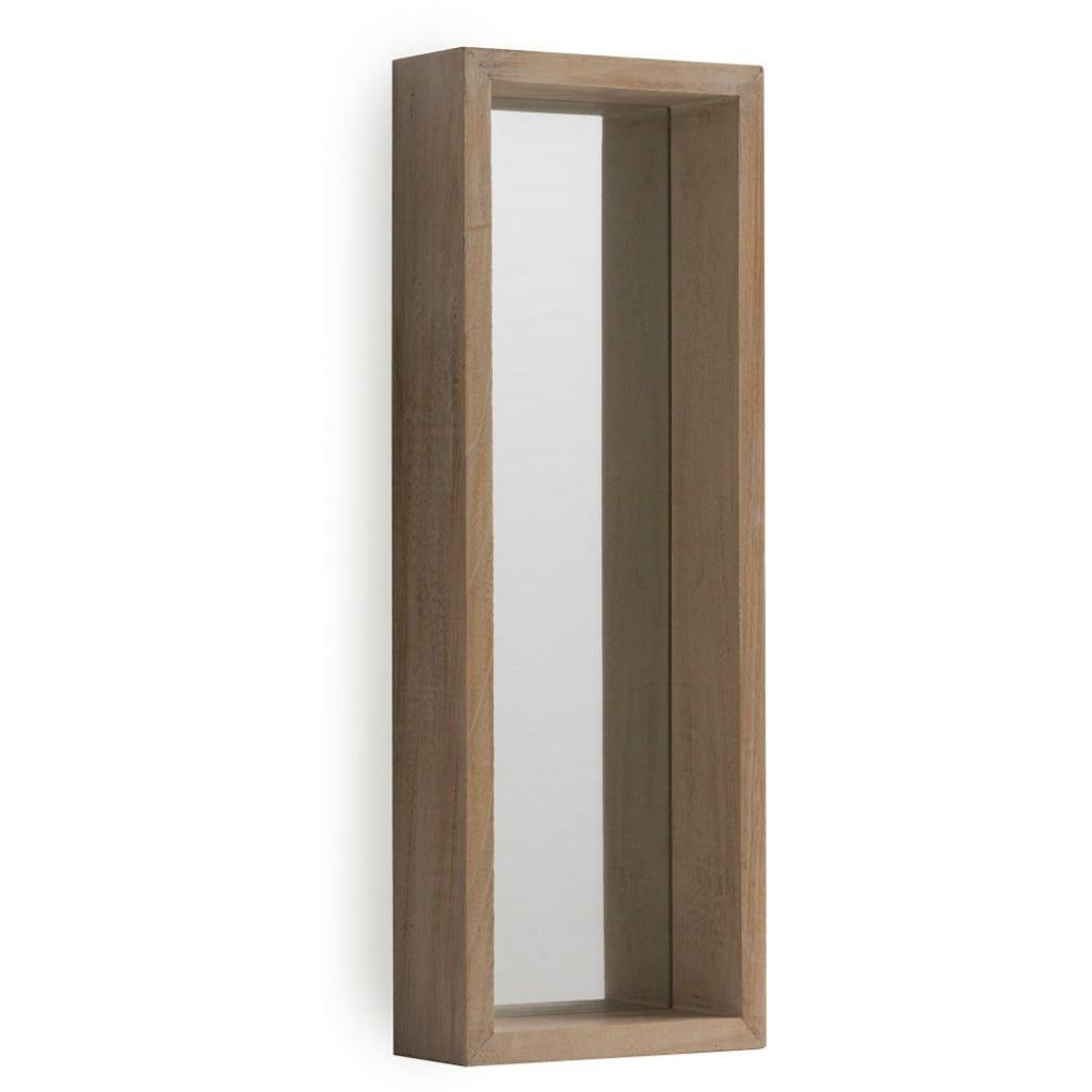 Produktové foto Nástěnné zrcadlo ze dřeva paulovnie Geese Pure, 62x22cm