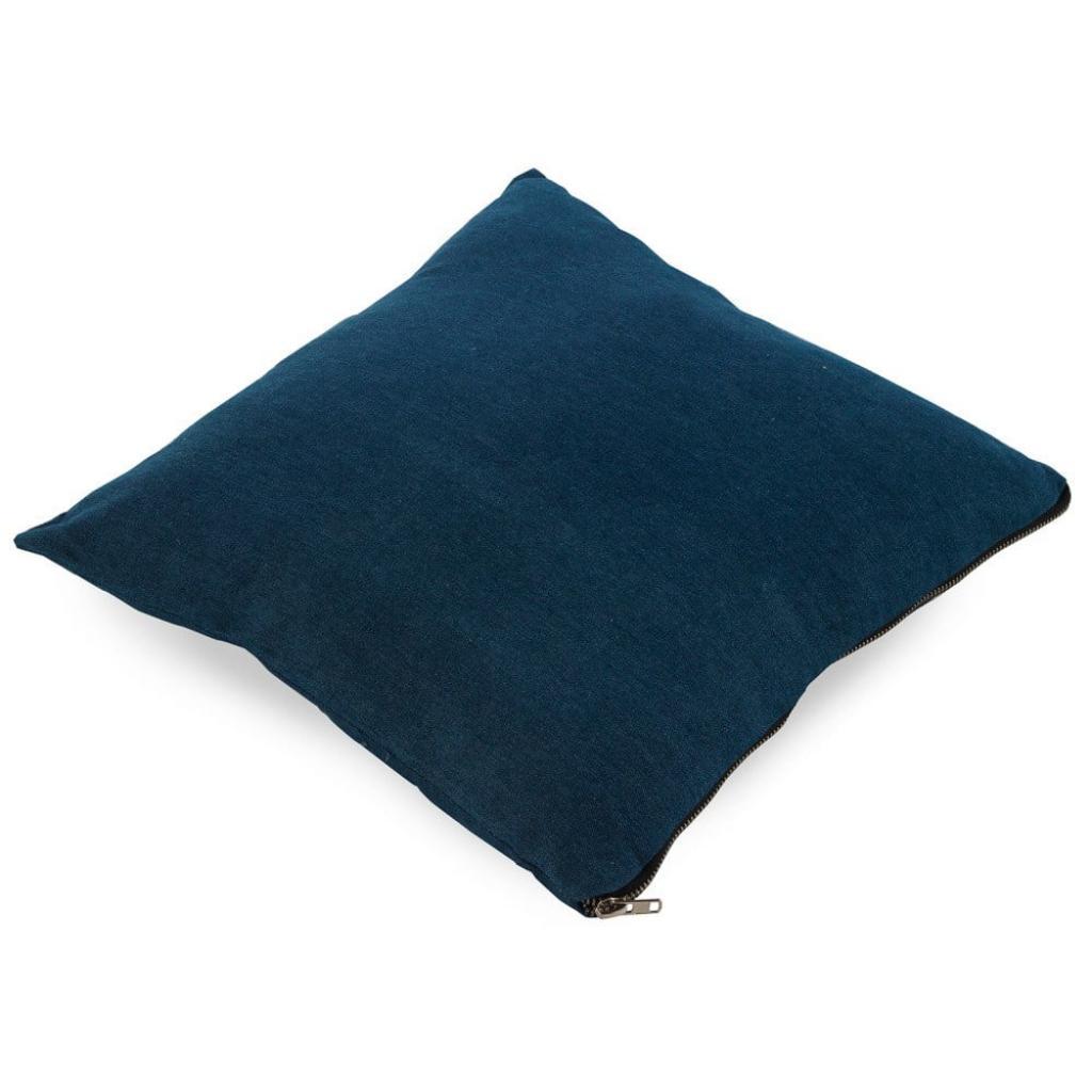 Produktové foto Tmavě modrý polštář Geese Soft, 45x45cm