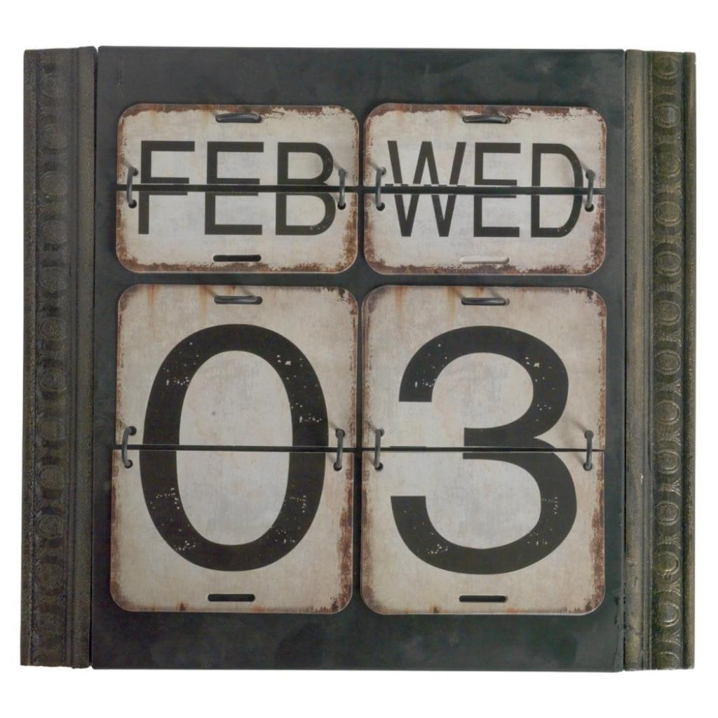 Produktové foto Zelený nástěnný kalendář Geese Time