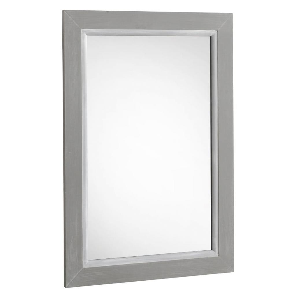 Produktové foto Šedé nástěnné zrcadlo Geese Paris, 55x 85 cm