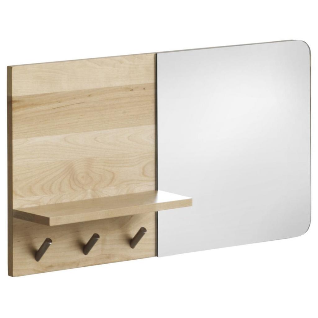 Produktové foto Nástěnné zrcadlo s poličkou z březového dřeva Geese Stockholm