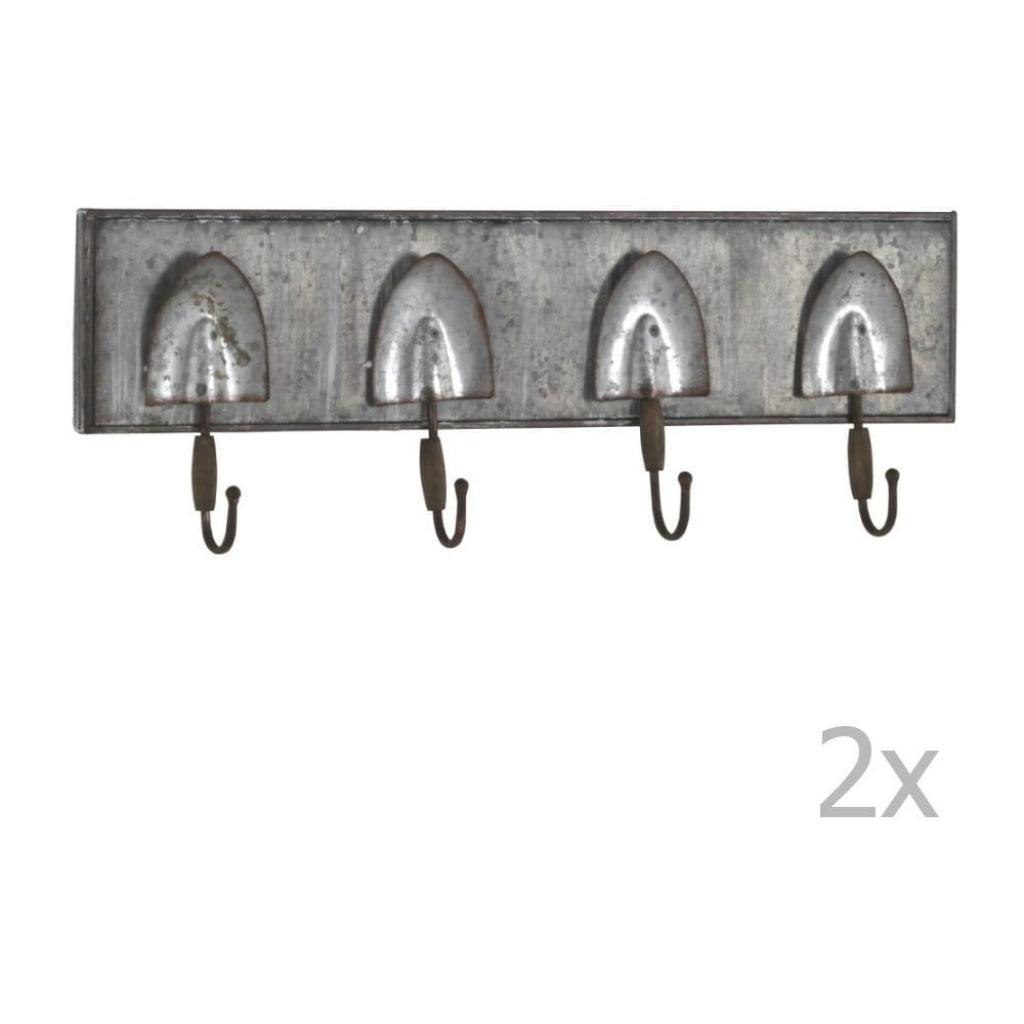 Produktové foto Sada 2 nástěnných kovových věšáků Geese Gardener
