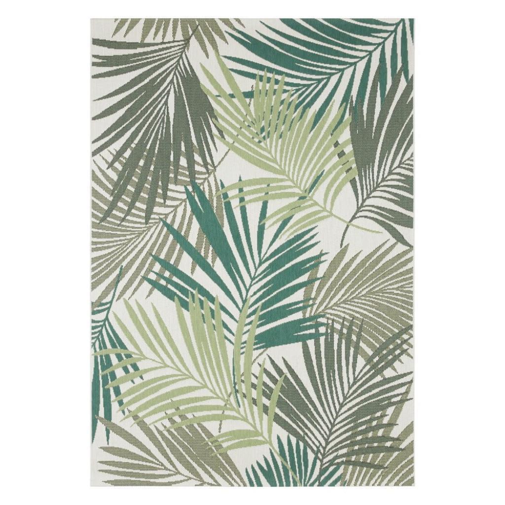 Produktové foto Zeleno-šedý venkovní koberec Bougari Vai, 120 x 170 cm