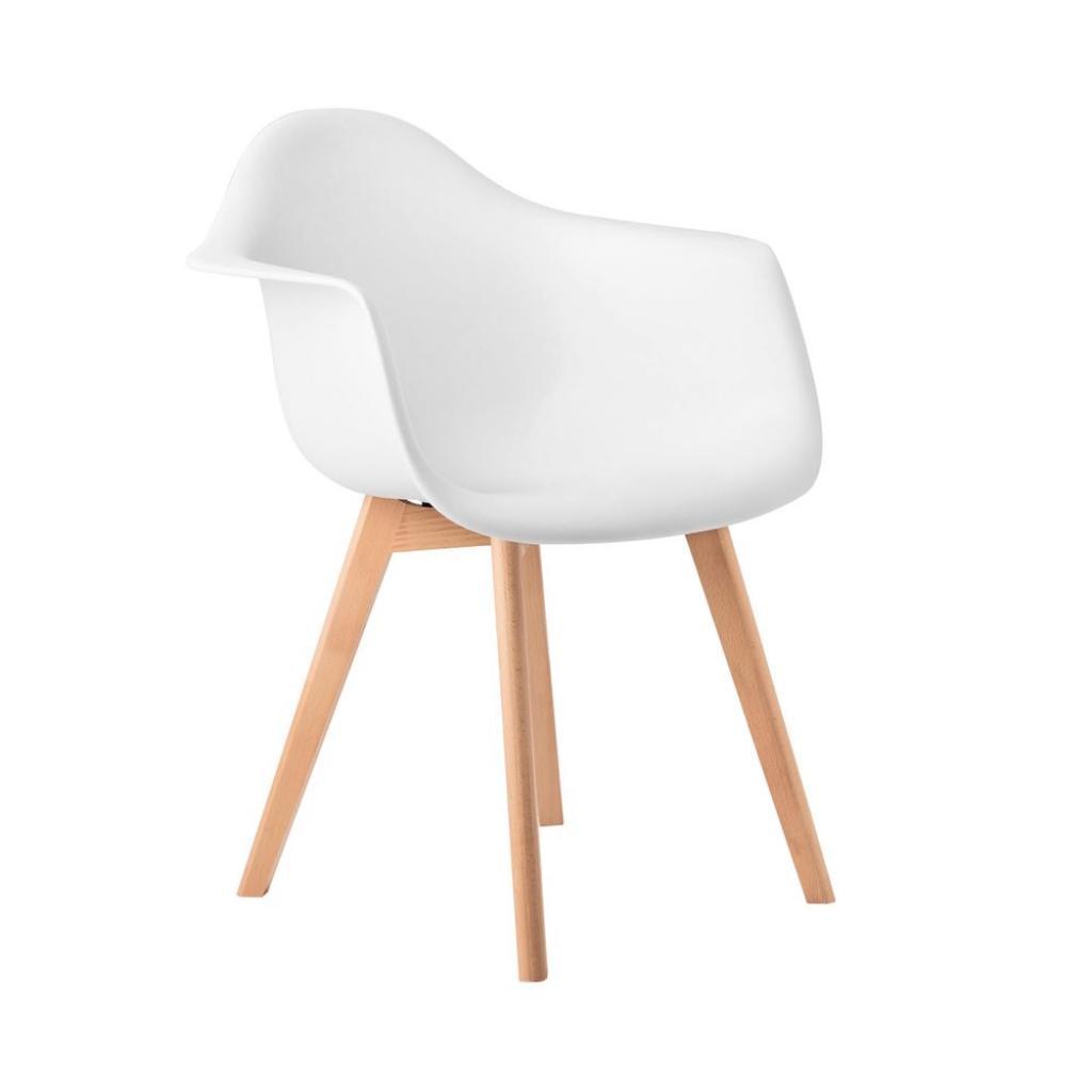 Produktové foto SEAT-OF-THE-ART Židle s područkami - bílá