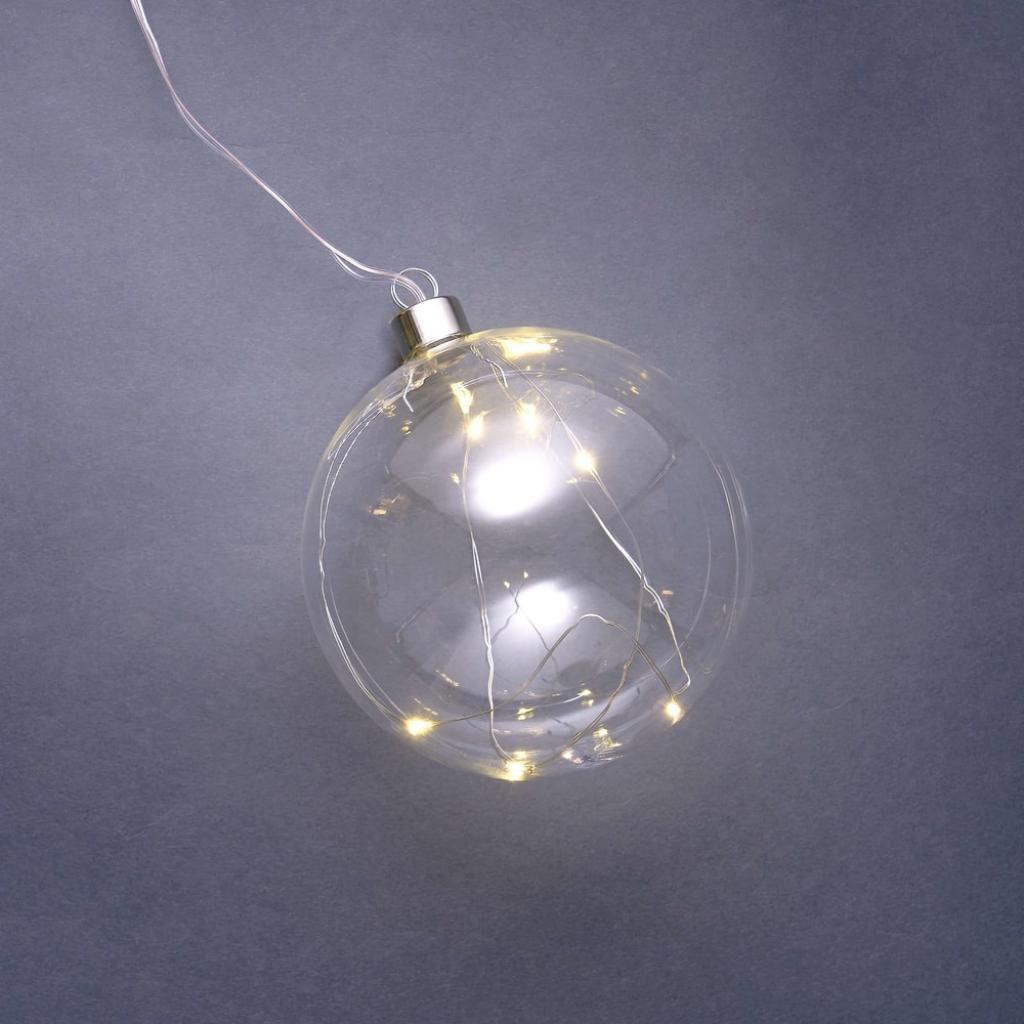 Produktové foto GLOW IN THE DARK LED Světelná koule 12 cm
