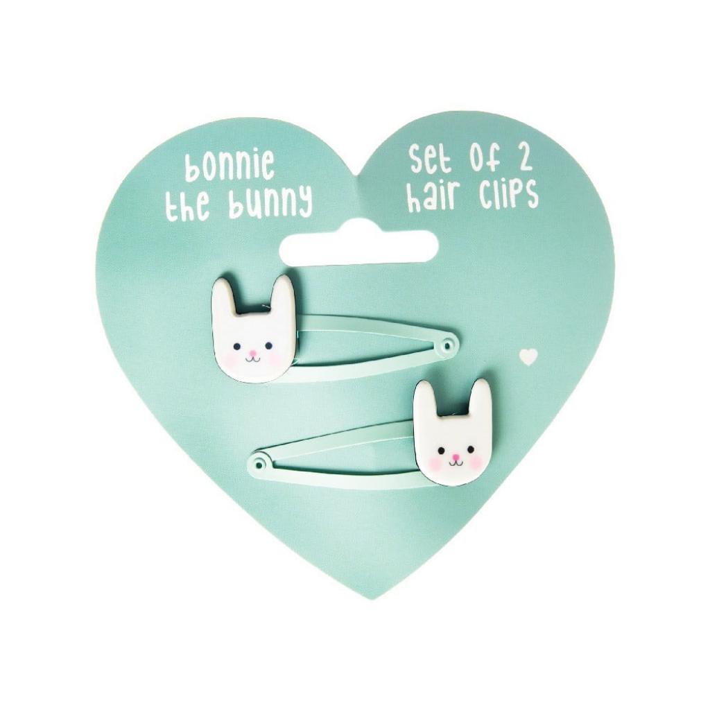 Produktové foto Sada 2 sponek do vlasů Rex London Bonnie The Bunny