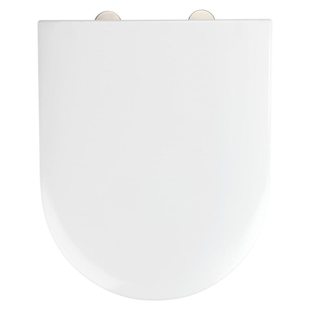 Produktové foto Bílé toaletní prkénko Wenko Exclusive V&B Subway