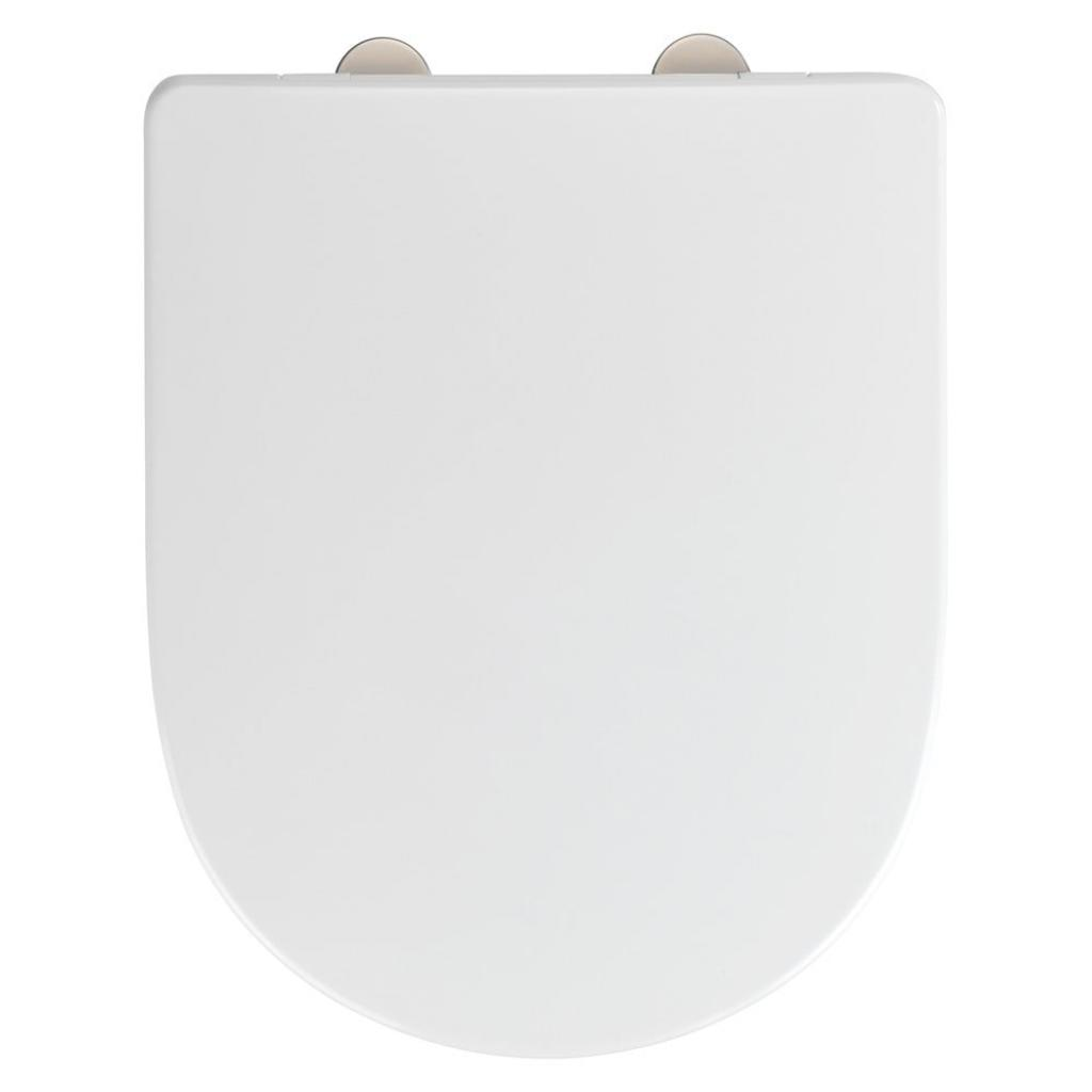 Produktové foto Bílé toaletní prkénko Wenko Exclusive V&B O.novo
