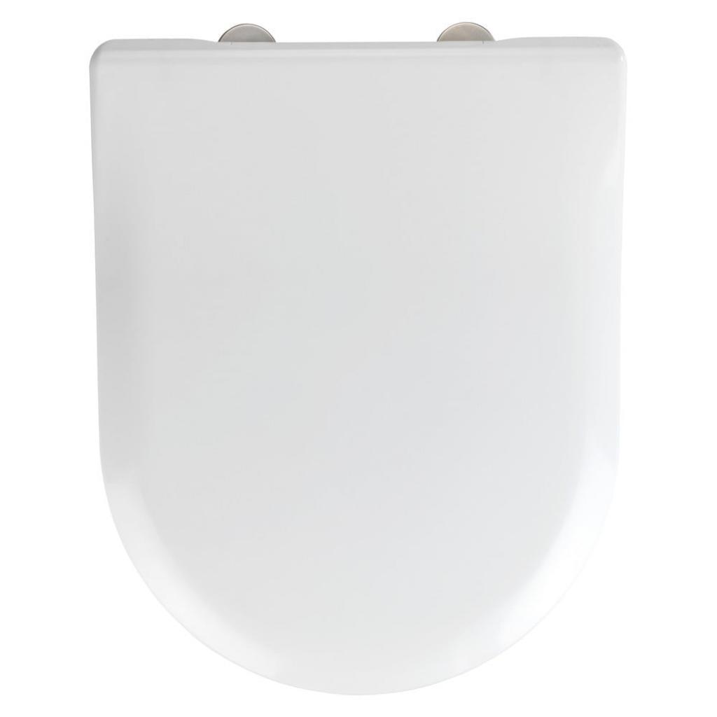 Produktové foto Bílé toaletní prkénko Wenko Exclusive V&B Subway 2.0 Slim
