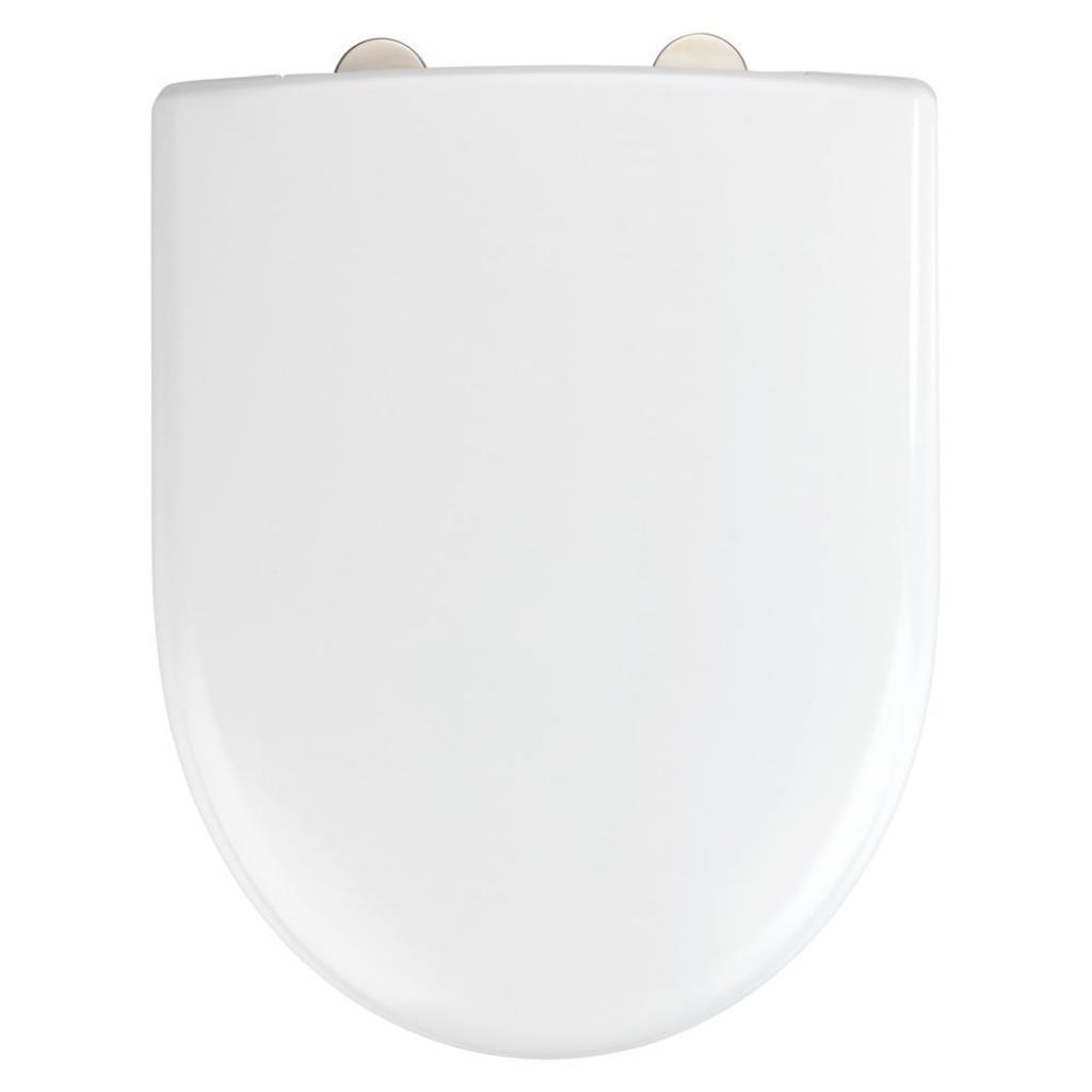 Produktové foto Bílé toaletní prkénko Wenko Exclusive Geberit Renova II.