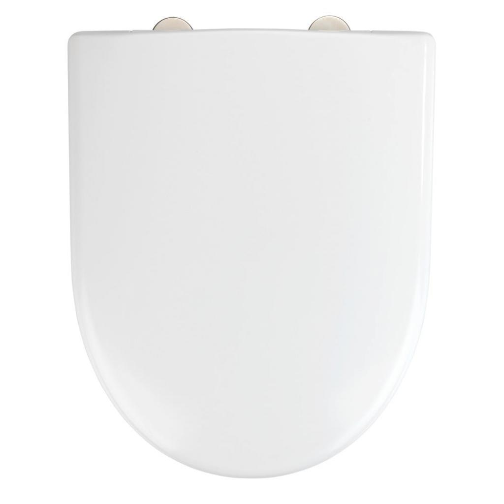 Produktové foto Bílé toaletní prkénko Wenko Exclusive Geberit Renova