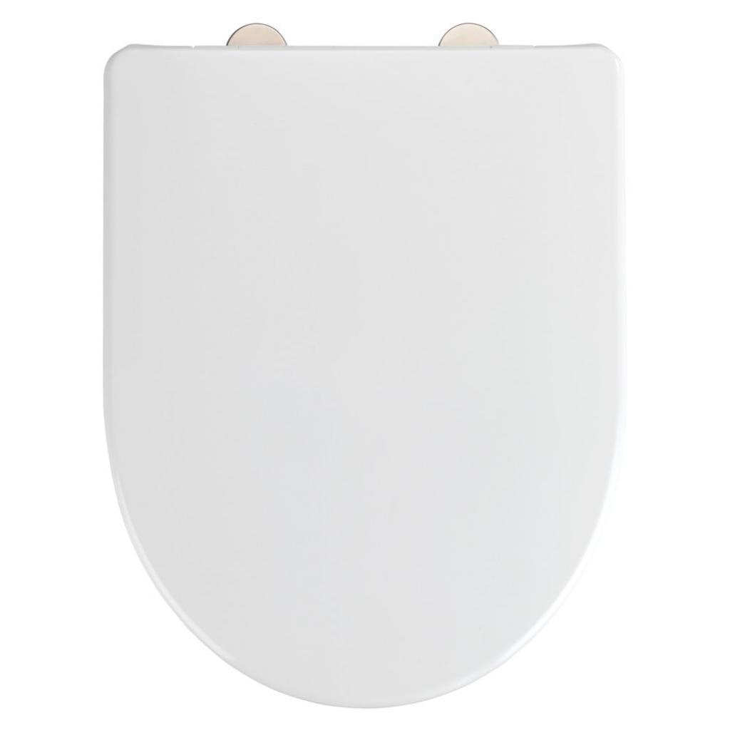 Produktové foto Bílé toaletní prkénko Wenko Exclusive Geberit Renova Icon