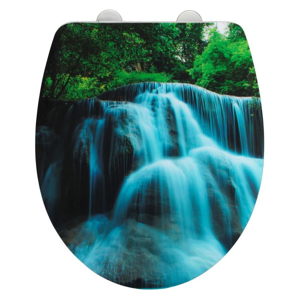 Produktové foto Toaletní prkénko se snadným zavíráním Wenko Waterfall