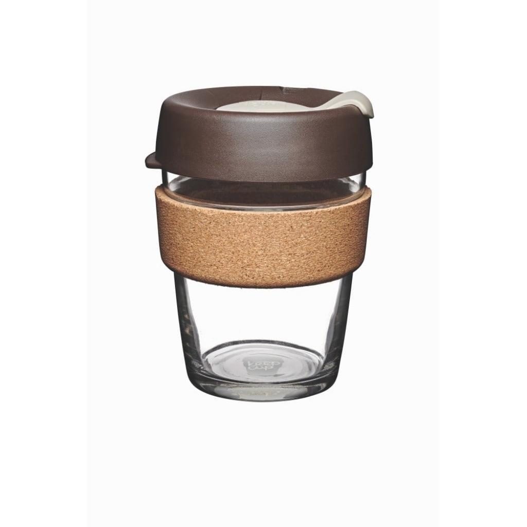 Produktové foto Cestovní hrnek s víčkem KeepCup Brew Cork Edition Almond, 340 ml