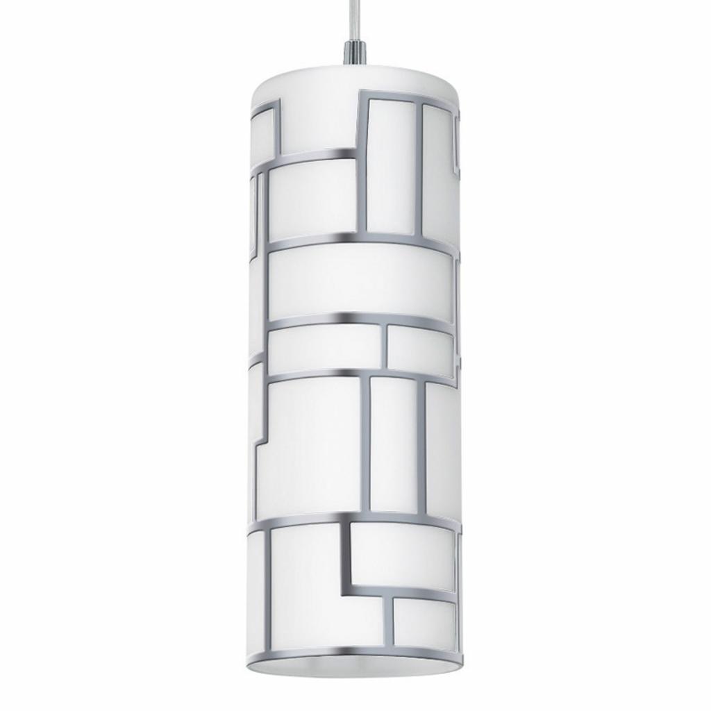 Produktové foto EGLO Malé závěsné světlo Bayman s liniovým dekorem