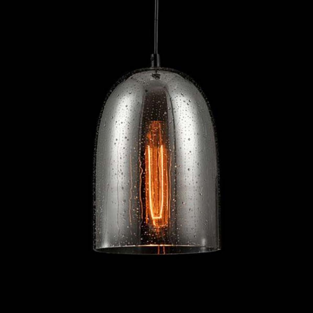 Produktové foto Maytoni Skleněné závěsné světlo Bergen Ø 17,5cm