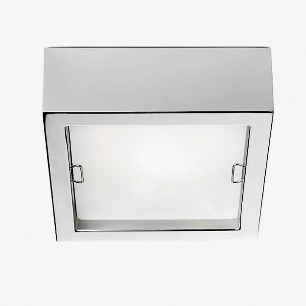 Produktové foto Pujol Čtvercové stropní světlo Esferic, chrom
