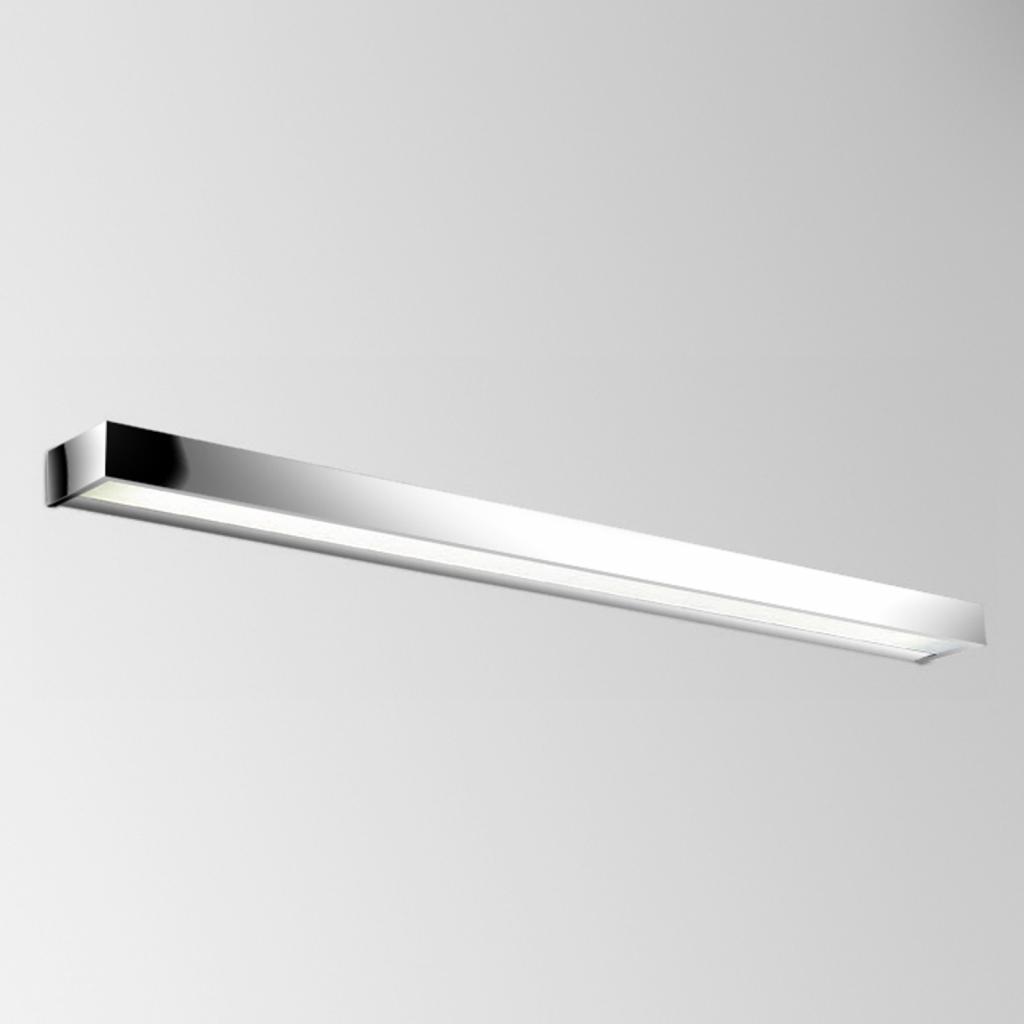 Produktové foto Pujol Znamenité LED nástěnné světlo Apolo, 120cm chrom