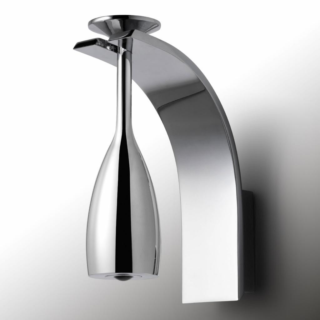 Produktové foto Pujol Brindis - LED nástěnné světlo v chromu