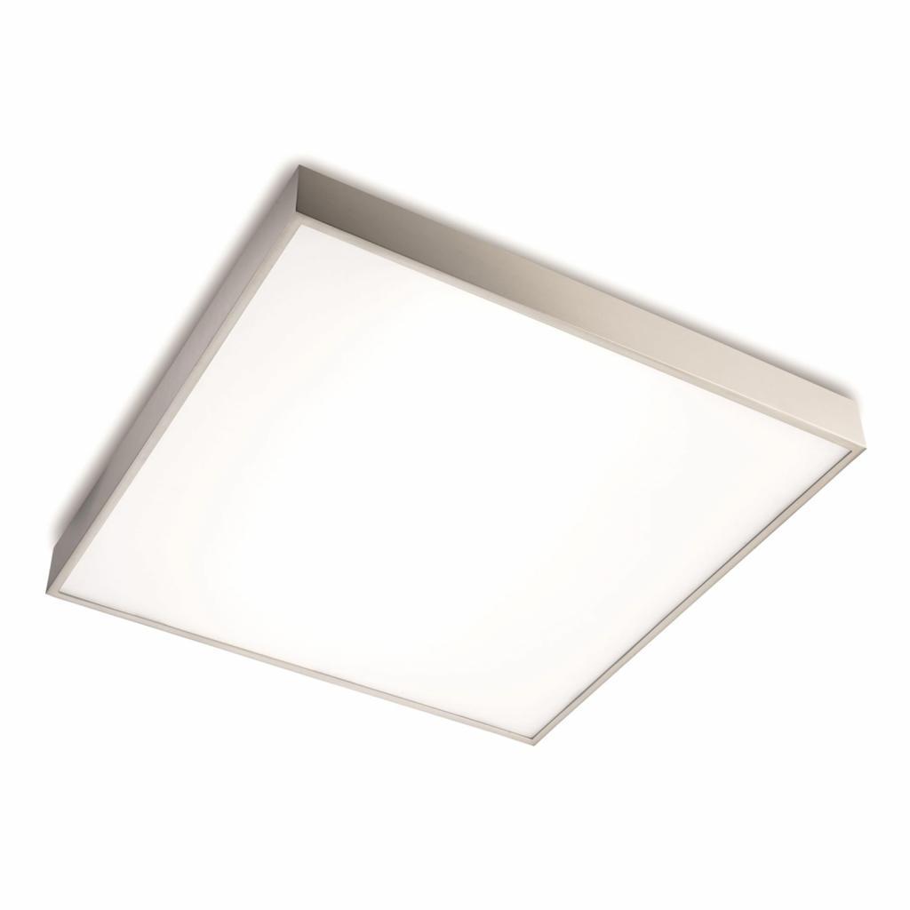 Produktové foto Pujol Kkvalitní LED stropní svítidlo Apolo, nikl matný