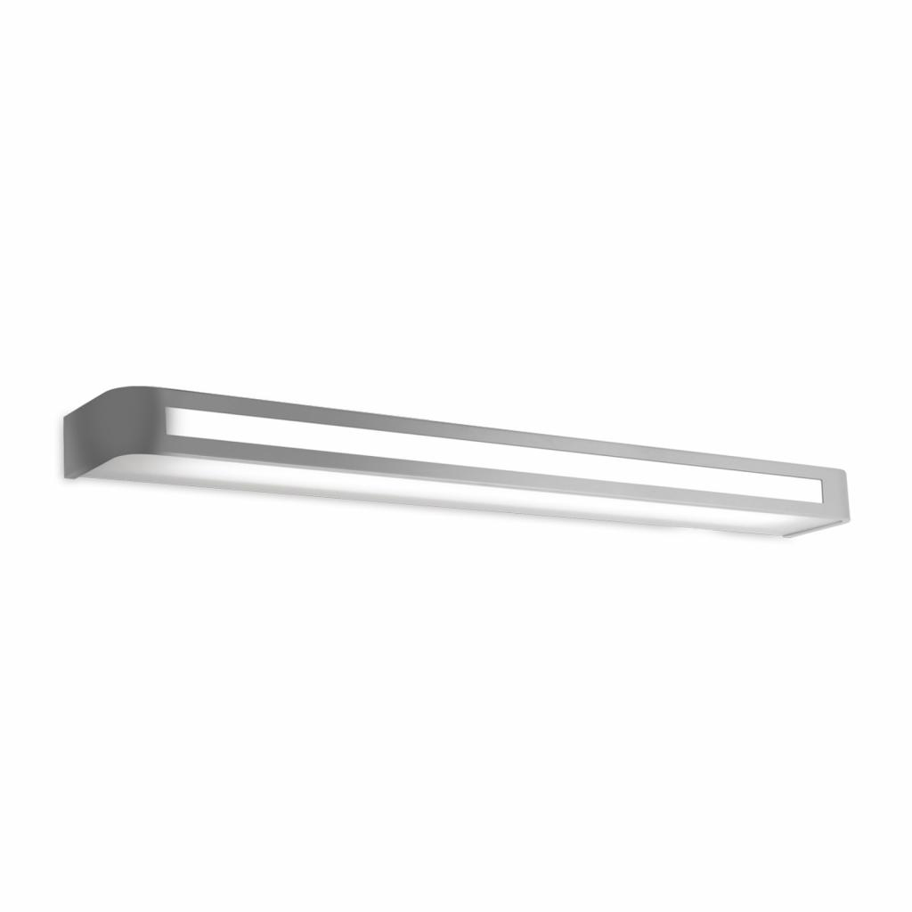 Produktové foto Pujol LED nástěnné světlo Arcos, IP20 90 cm, chrom