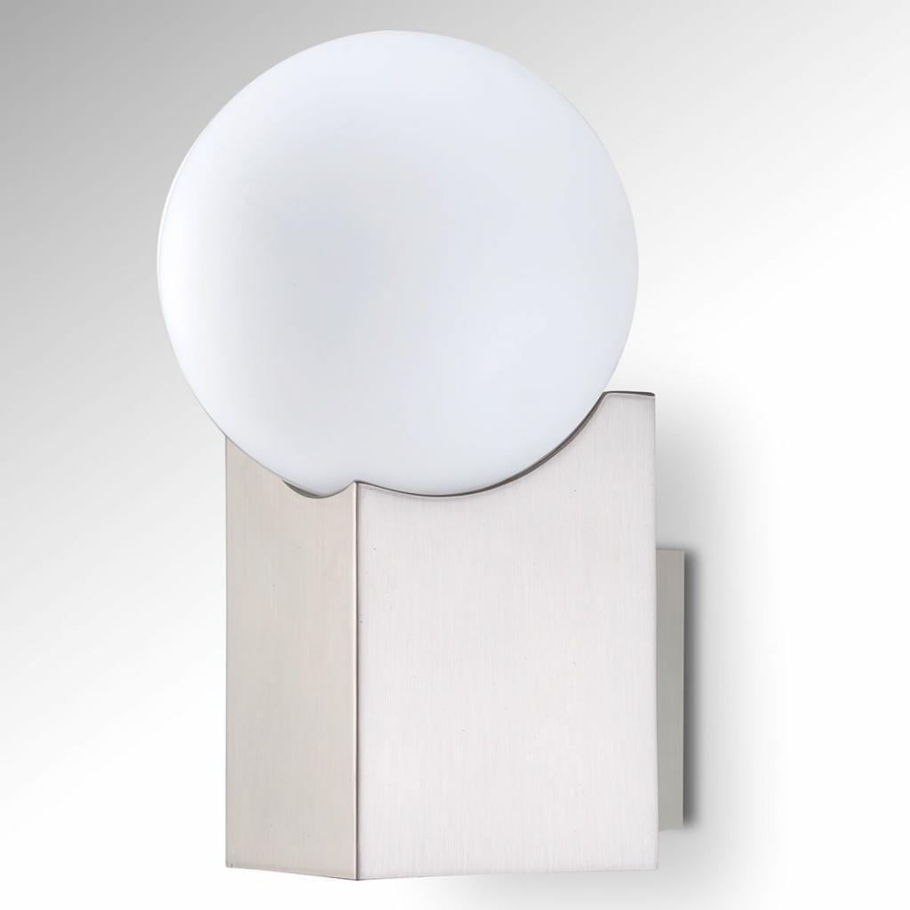 Produktové foto Pujol Nástěnné světlo Cub nikl matný