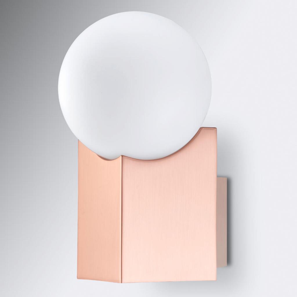 Produktové foto Pujol Nástěnné světlo Cub měď