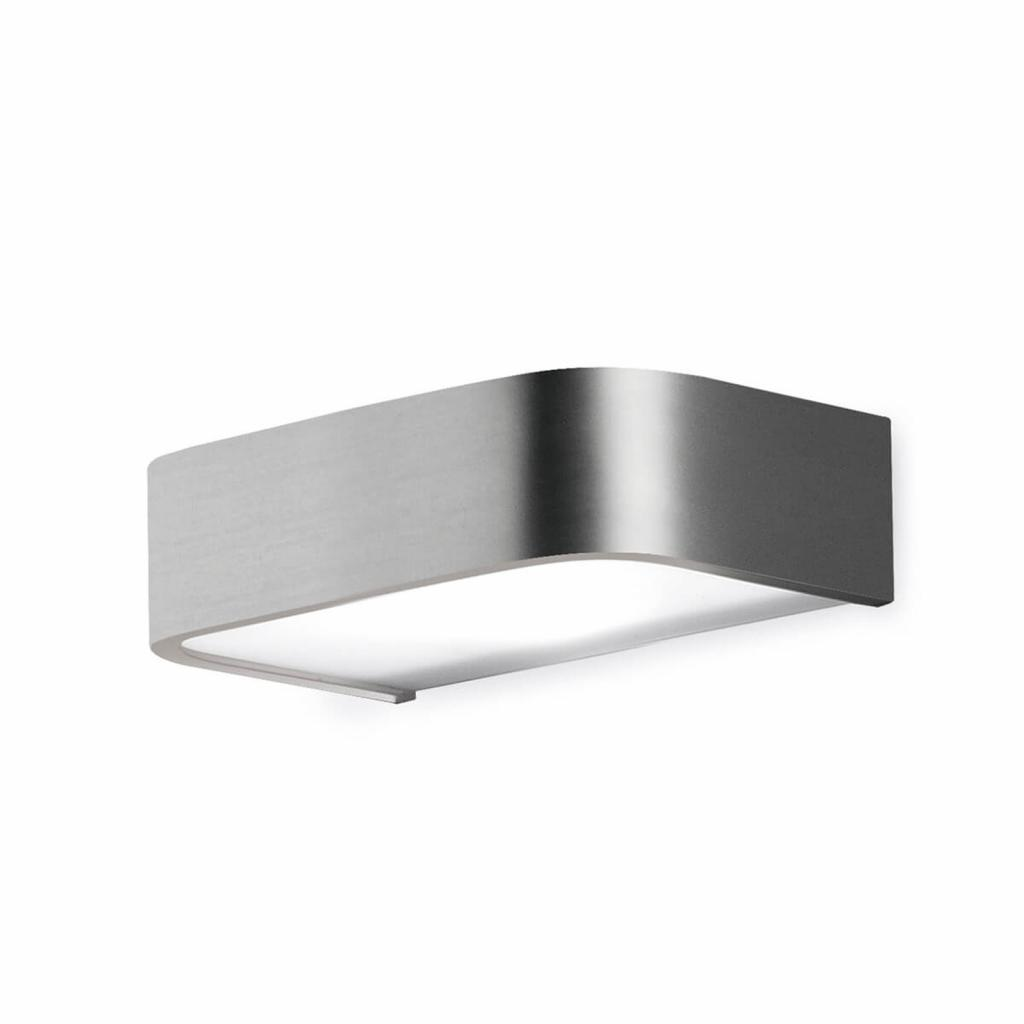 Produktové foto Pujol Koupelnové nástěnné světlo Arcos s LED 15 cm nikl