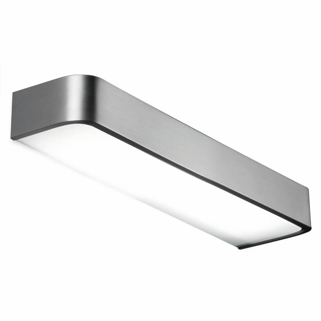 Produktové foto Pujol Koupelnové nástěnné světlo Arcos s LED 60 cm nikl