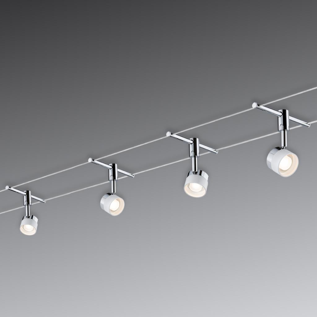 Produktové foto Paulmann Paulmann Stage LED lankový systém, 4 žárovky