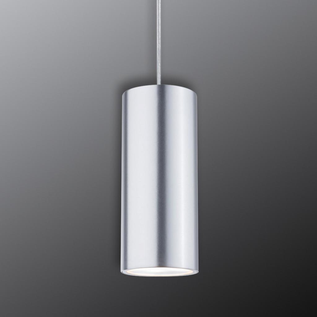Produktové foto Paulmann Paulmann URail Barrel LED závěs, chrom mat