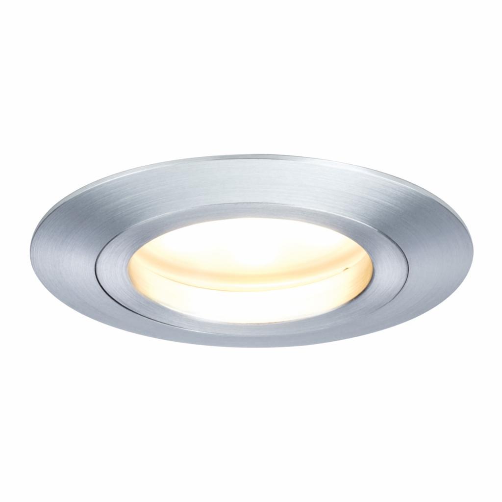 Produktové foto Paulmann Paulmann Coin LED podhledové svítidlo IP44, hliník